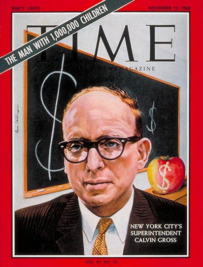 TIME Magazine Cover: Calvin E. Gross -- Nov. 15, 1963