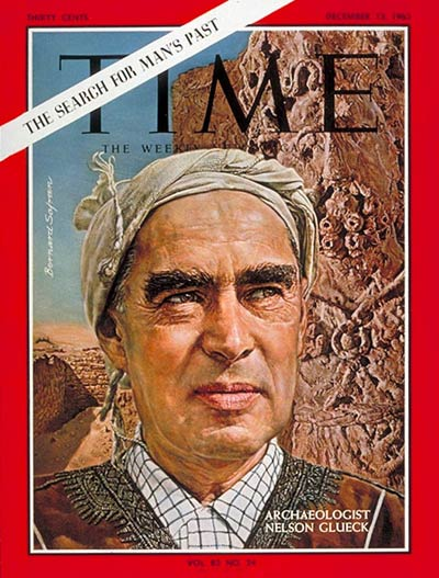 TIME Magazine Cover: Nelson Glueck -- Dec. 13, 1963