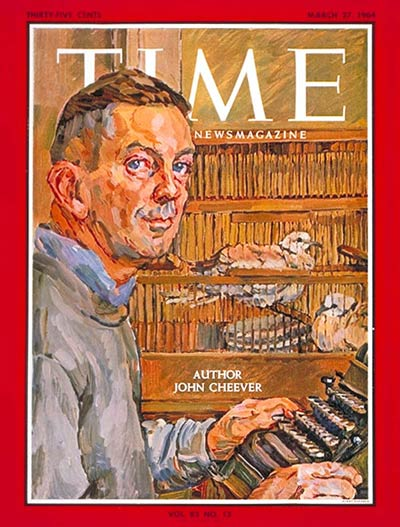 TIME Magazine Cover: John Cheever -- Mar. 27, 1964