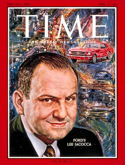 Lee Iacocca  of Ford Motor Co.