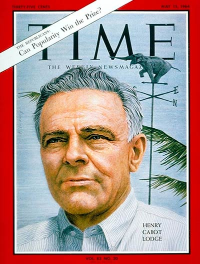 TIME Magazine Cover: Henry Cabot Lodge -- May 15, 1964