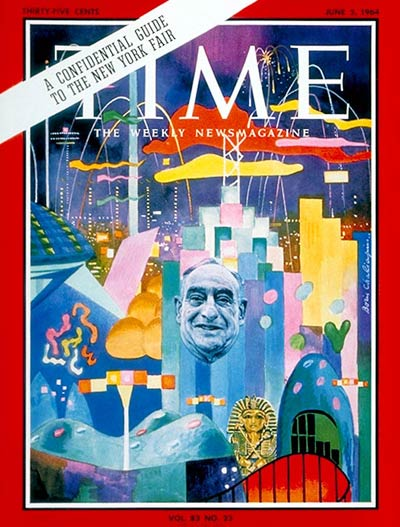 TIME Magazine Cover: New York World's Fair -- June 5, 1964