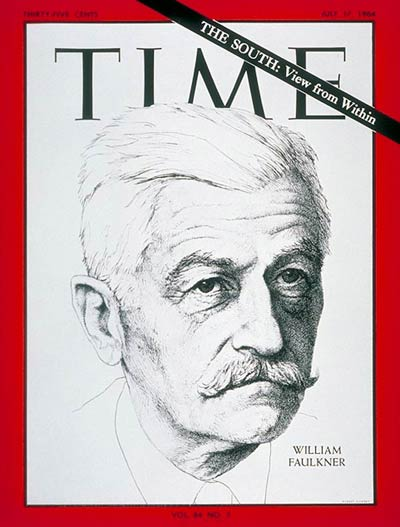 TIME Magazine Cover: William Faulkner -- July 17, 1964