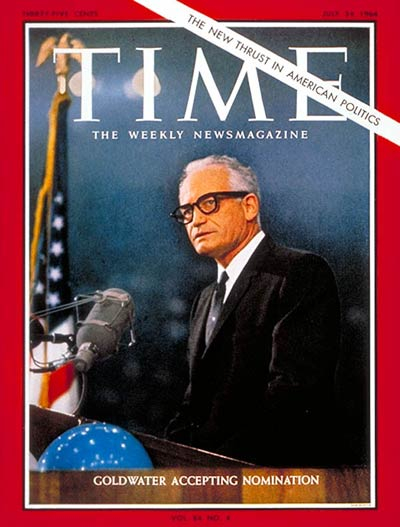 TIME Magazine Cover: Barry Goldwater -- July 24, 1964
