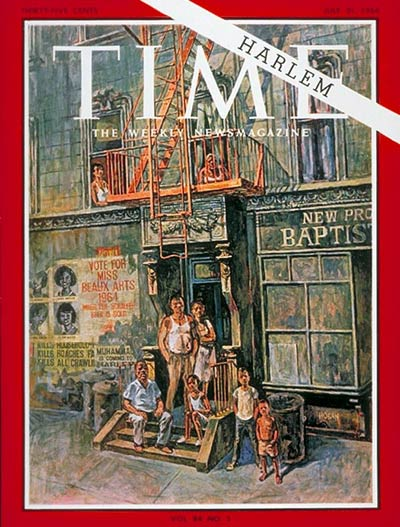 TIME Magazine Cover: Harlem -- July 31, 1964