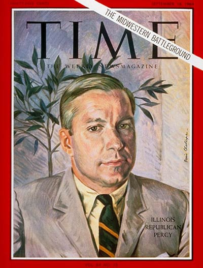 TIME Magazine Cover: Charles H. Percy -- Sep. 18, 1964