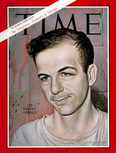 TIME Magazine Cover: Lee Harvey Oswald -- Oct. 2, 1964