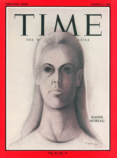 TIME Magazine Cover: Jeanne Moreau -- Mar. 5, 1965