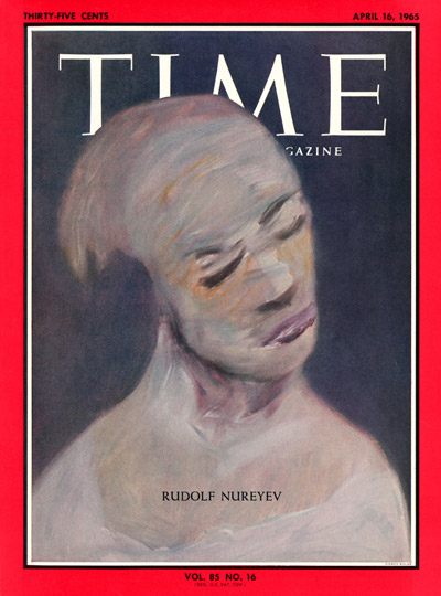 TIME Magazine Cover: Rudolph Nureyev -- Apr. 16, 1965