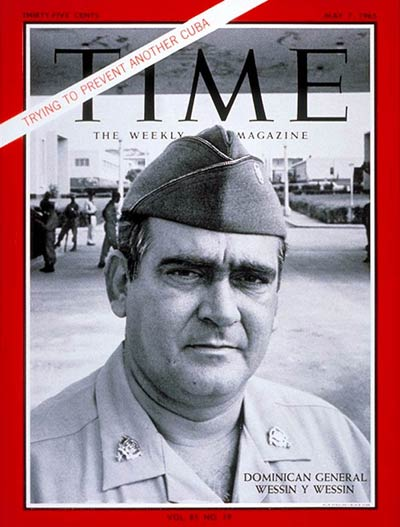 TIME Magazine Cover: General Wessin Wessin -- May 7, 1965