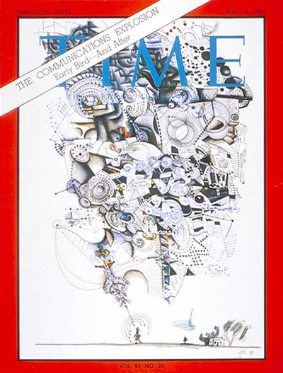 TIME Magazine Cover: The Communications Explosion -- May 14, 1965