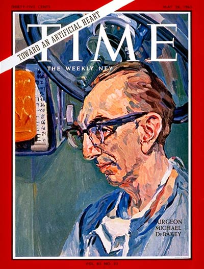 TIME Magazine Cover: Dr. Michael DeBakey -- May 28, 1965