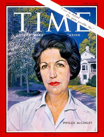TIME Magazine Cover: Phyllis McGinley -- June 18, 1965
