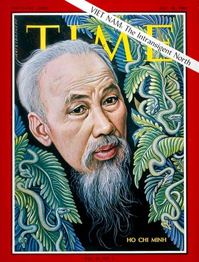 TIME Magazine Cover: Ho Chi Minh -- July 16, 1965