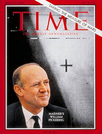 TIME Magazine Cover: William Pickering -- July 23, 1965