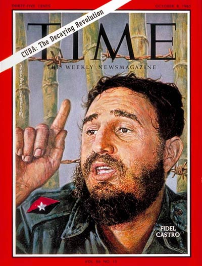 TIME Magazine Cover: Fidel Castro -- Oct. 8, 1965