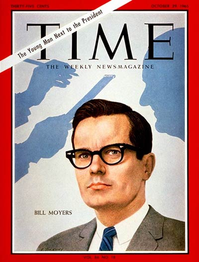 TIME Magazine Cover: Bill D. Moyers -- Oct. 29, 1965
