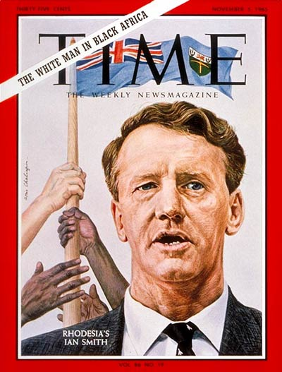 TIME Magazine Cover: Ian Smith -- Nov. 5, 1965