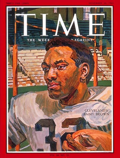 TIME Magazine Cover: Jimmy Brown -- Nov. 26, 1965
