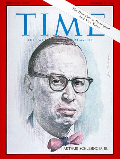 TIME Magazine Cover: Arthur Schlesinger Jr. -- Dec. 17, 1965