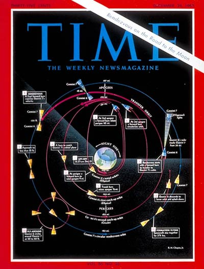 TIME Magazine Cover: Gemini Rendezvous -- Dec. 24, 1965