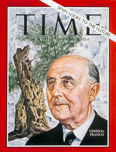 TIME Magazine Cover: General Franco -- Jan. 21, 1966