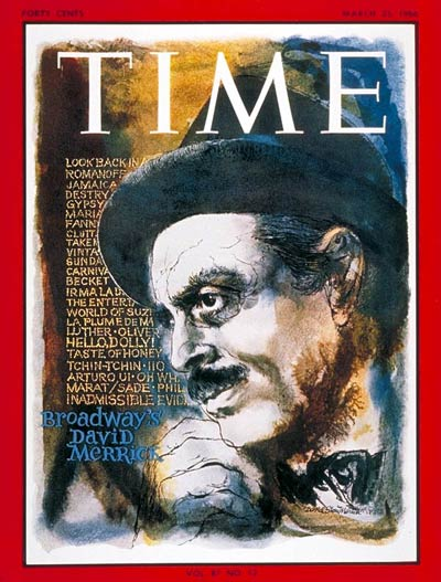 TIME Magazine Cover: David Merrick -- Mar. 25, 1966