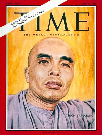 TIME Magazine Cover: Thich Tri Quang -- Apr. 22, 1966
