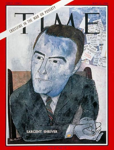 TIME Magazine Cover: Sargent Shriver -- May 13, 1966