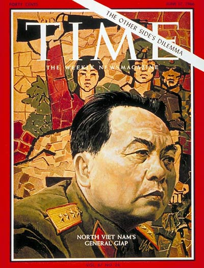 TIME Magazine Cover: General Vo Nguyen Giap -- June 17, 1966