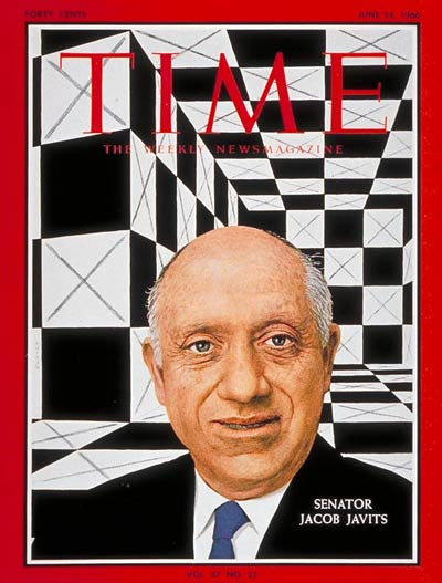 TIME Magazine Cover: Sen. Jacob Javits -- June 24, 1966