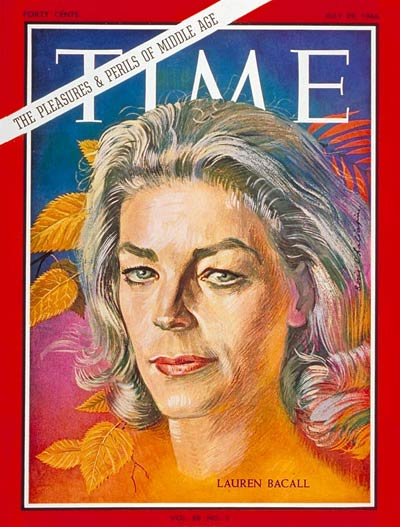 TIME Magazine Cover: Lauren Bacall -- July 29, 1966