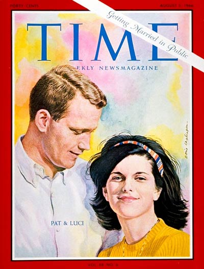 TIME Magazine Cover: Luci B. Johnson, Patrick Nugent -- Aug. 5, 1966