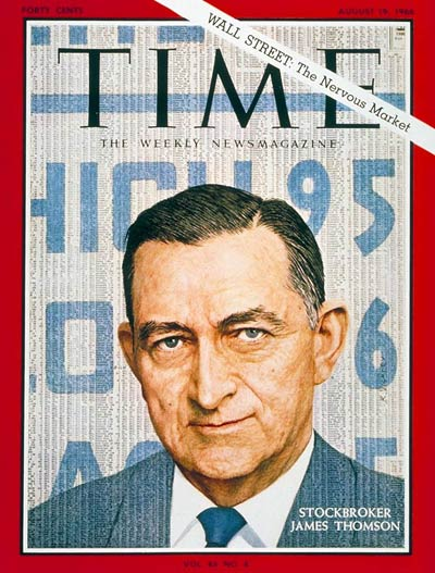 TIME Magazine Cover: James E. Thomson -- Aug. 19, 1966