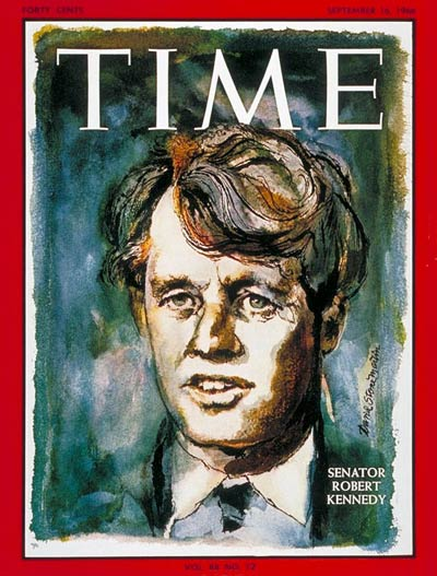 TIME Magazine Cover: Robert F. Kennedy -- Sep. 16, 1966