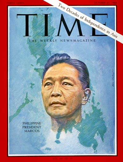 TIME Magazine Cover: Ferdinand Marcos -- Oct. 21, 1966