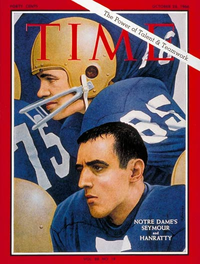 TIME Magazine Cover: Jim Seymour, Terry Hanratty -- Oct. 28, 1966