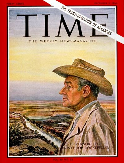 TIME Magazine Cover: Winthrop Rockefeller -- Dec. 2, 1966
