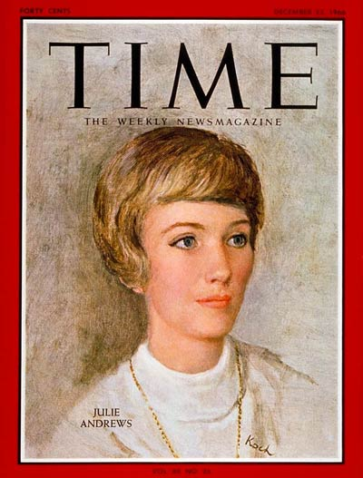 TIME Magazine Cover: Julie Andrews -- Dec. 23, 1966