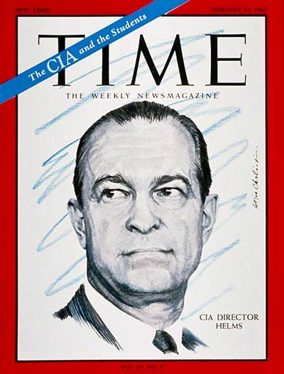 TIME Magazine Cover: Richard Helms -- Feb. 24, 1967