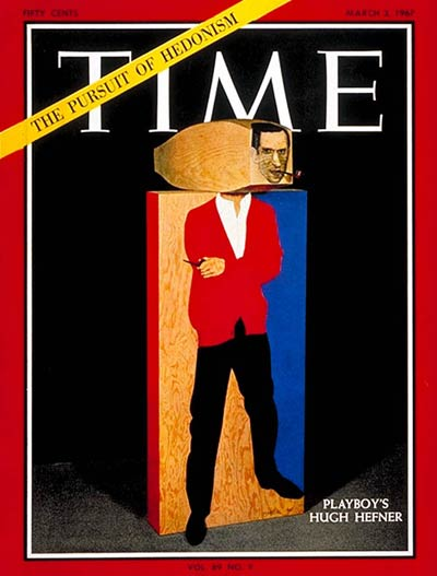 TIME Magazine Cover: Hugh Hefner -- Mar. 3, 1967