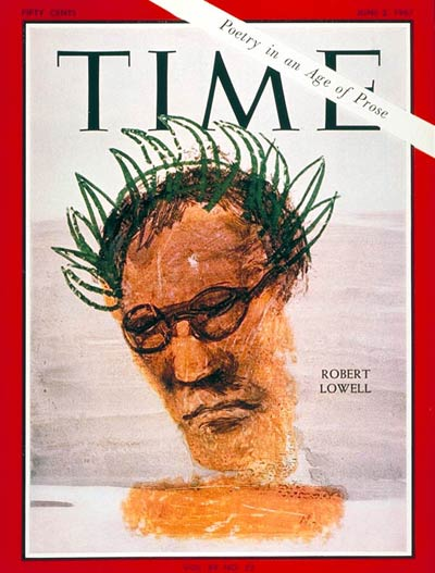 TIME Magazine Cover: Robert Lowell -- June 2, 1967