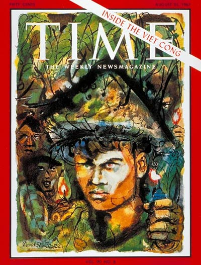 TIME Magazine Cover: Inside the Viet Cong -- Aug. 25, 1967