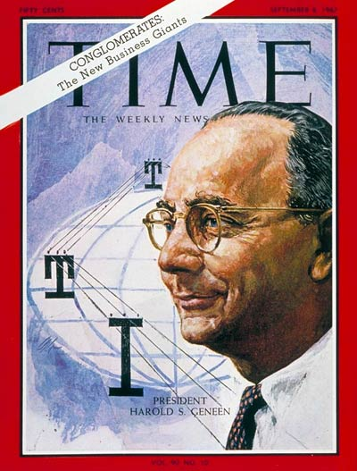 TIME Magazine Cover: Harold S. Geneen -- Sep. 8, 1967