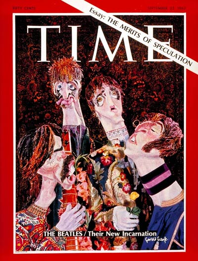 TIME Magazine Cover: The Beatles -- Sep. 22, 1967