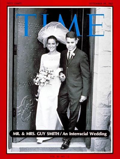 TIME Magazine Cover: Mr. And Mrs. Guy Smith -- Sep. 29, 1967