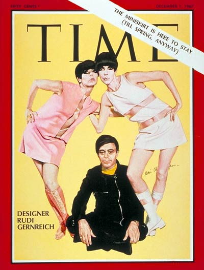 TIME Magazine Cover: Rudi Gernreich -- Dec. 1, 1967