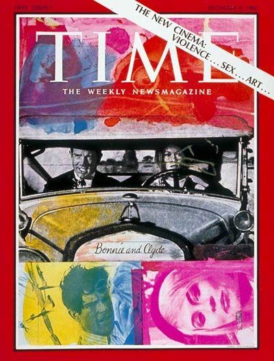 TIME Magazine Cover: Bonnie and Clyde -- Dec. 8, 1967