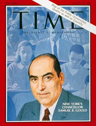 TIME Magazine Cover: Samuel B. Gould -- Jan. 12, 1968