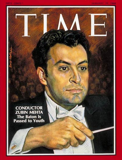 TIME Magazine Cover: Zubin Mehta -- Jan. 19, 1968